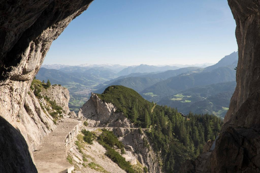 Berge Sommerurlaub Haustausch Sommerurlaub Österreich Tennen Massiv Berge