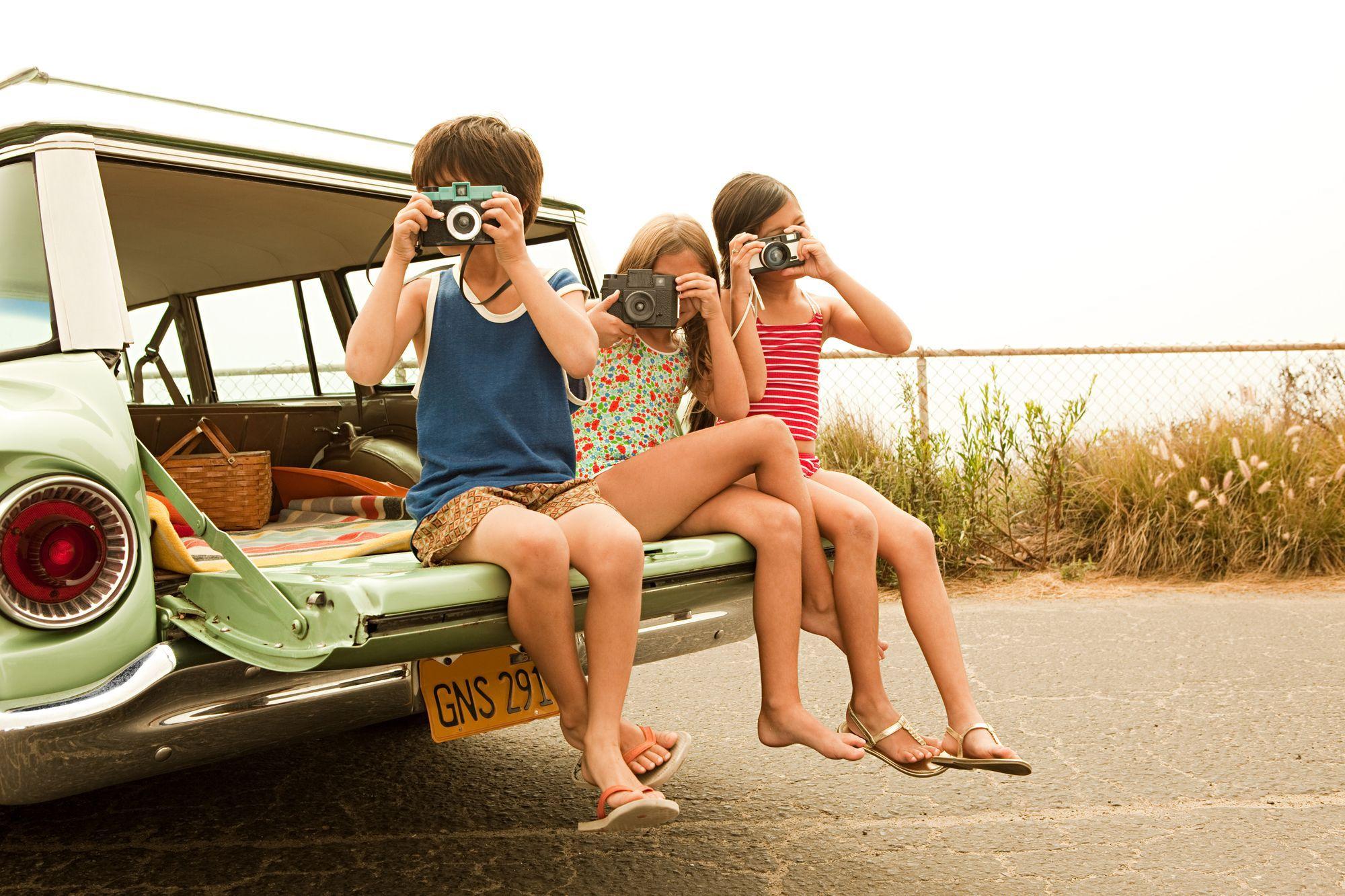 Kinder-Urlaub-Haustausch-Familie-Ferien-Fotografie