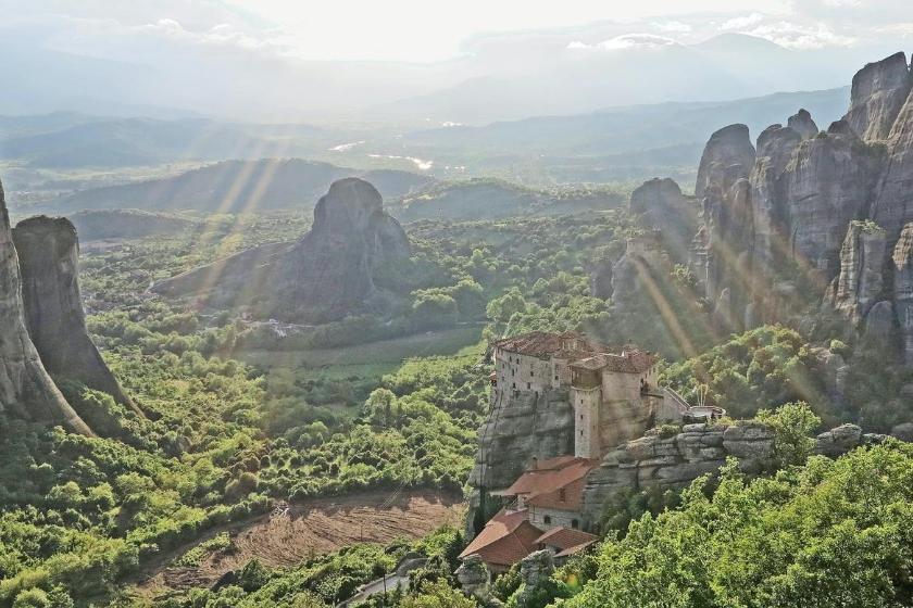Berge Sommerurlaub Haustausch Griechenland Meteora