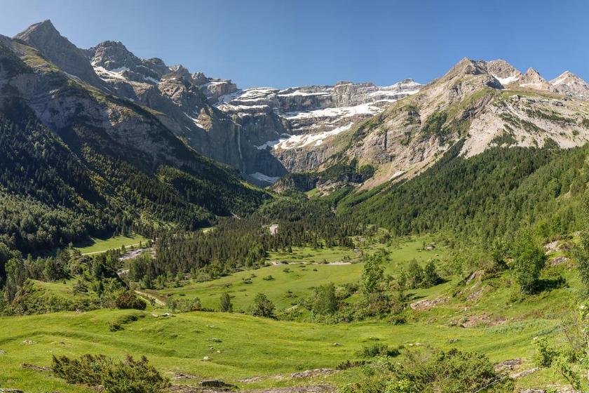 Berge Sommerurlaub Haustausch Sommerurlaub Frankreich Gavarnie Berge