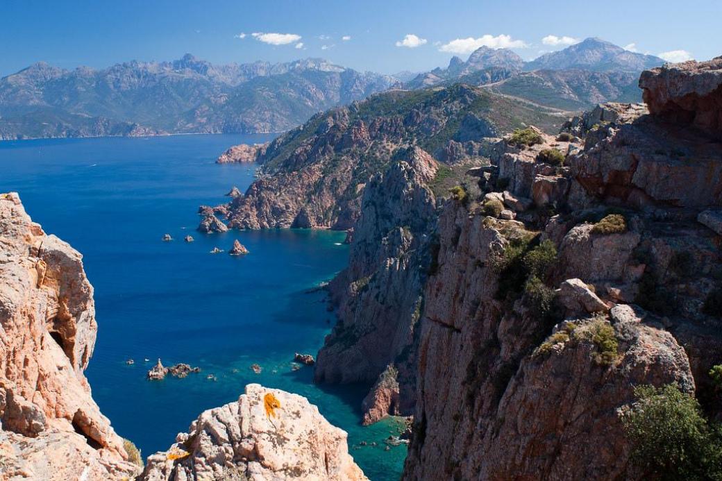 Scandola-Korsika-Frankreich-Koffer-Urlaub-Ende Sommer-Haustausch