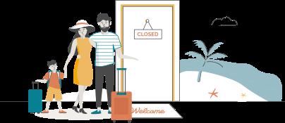Familienwechsel-Heim-Urlaubsreisen