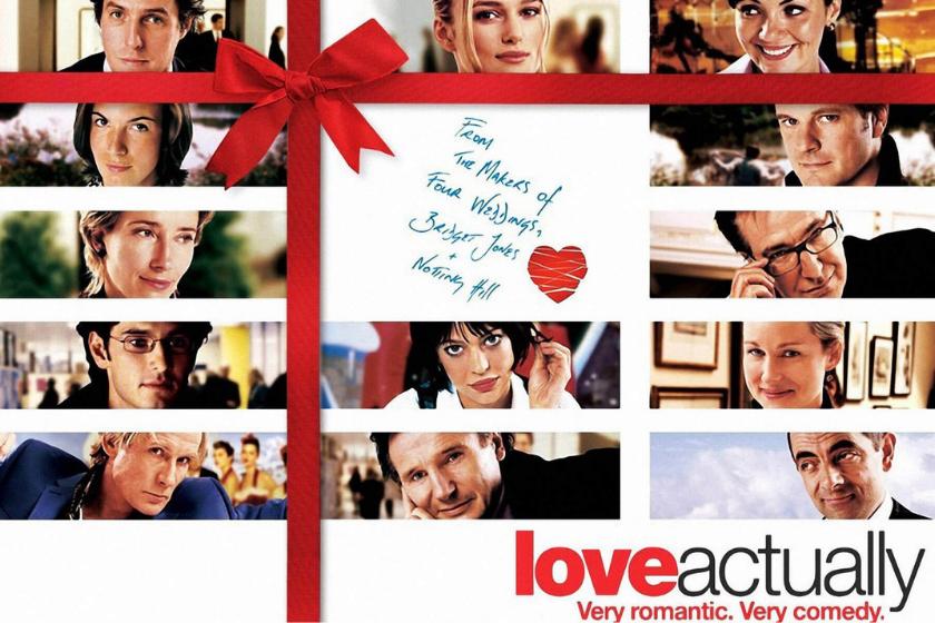 Love Actually, Weihnachtsfilm, romantischer Film, romantische Komödie, Weihnachtsferien, Haustausch
