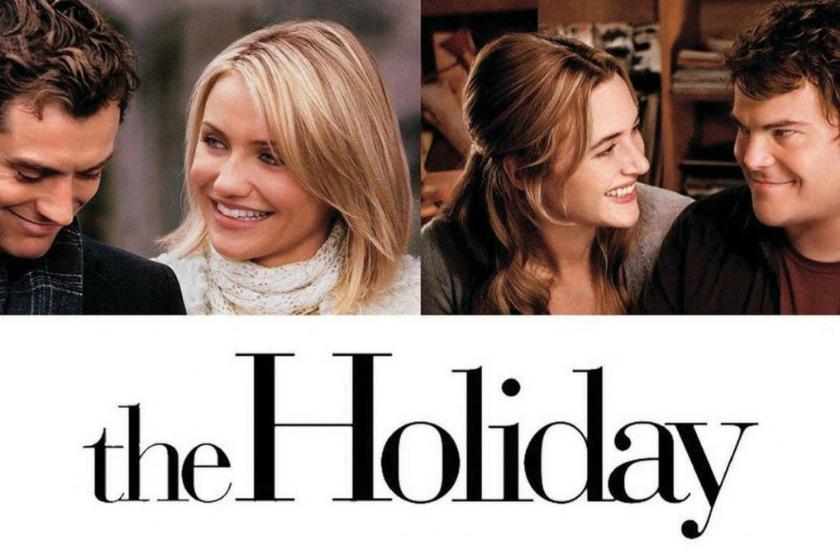 The Holiday, Weihnachtsfilm, romantischer Film, romantische Komödie, Weihnachtsferien, Haustausch